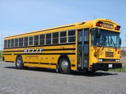 Geltonas autobusas